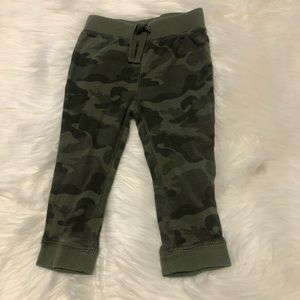 Gap girls camo leggings sz 18-24M